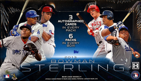 #2 2013 Bowman Sterling Baseball 1-Box Break - 2 Random Teams BOGO