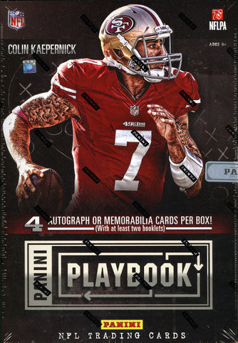 LIVE MONDAY 4/14 @9pm-CT FOOTBALL 2-BOX 2013 FB Panini Playbook 2-box Break - 2 Random Teams per Spot