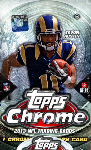 Box #8 2013 Topps Chrome Football 1-Box Break - 2 Random Teams BOGO