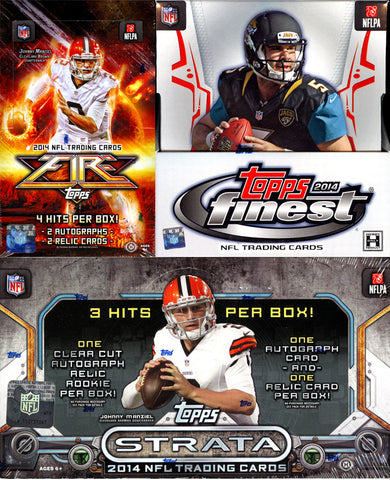 2014 3 Box Nfl Mixer - 2 Random Teams