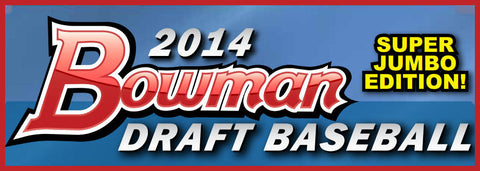 2014 Bowman Draft Picks Baseball SUPER JUMBO 6-box Case Break - Random Teams