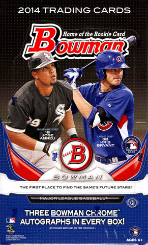 2014 Bowman Baseball Jumbo Box Break -  Random DIVISION per Spot