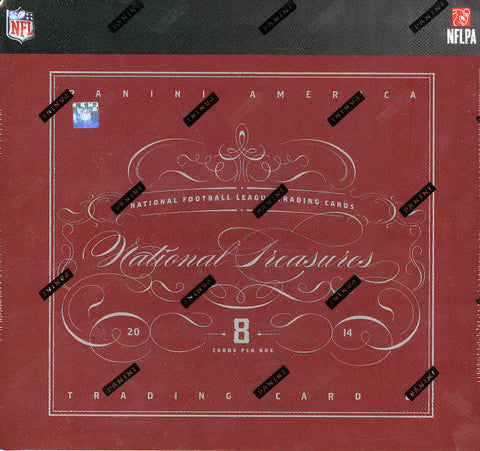 2014 Panini National Treasures Football Case Break - Div