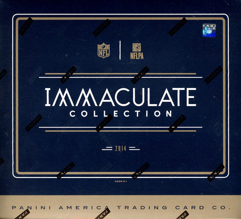 #2 2014 Panini Immaculate Football 1-box Break - Random Divisions