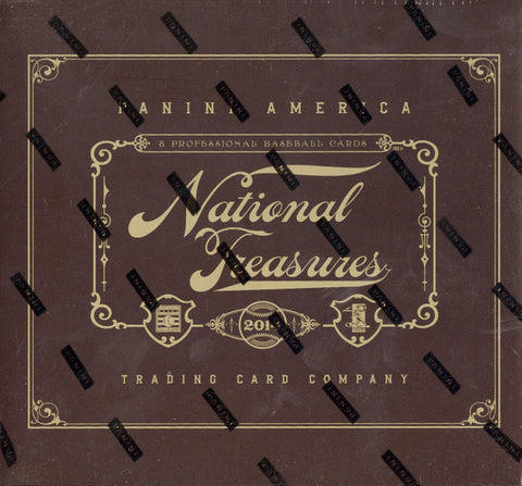 LIVE MON. 8/10/15 - 2014 Panini National Treasures Baseball Case Break- Random Teams (29 Total Spots)