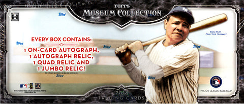 2014 Topps Museum Collection Baseball 1-box Break - Draft Your Team
