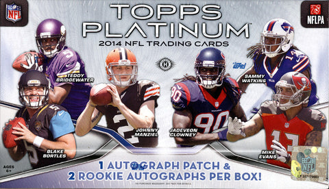 2014 PLATINUM FOOTBALL PC BOX