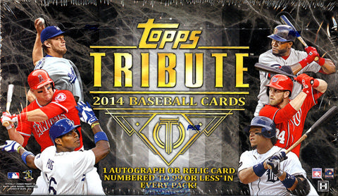 2014 Tribute 4-Box Inner Case - Random Teams