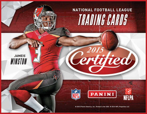 LIVE WED. 8/18/15 - 2015 Panini Certified FB 12-Box Case Break - Random Teams (29 Spots)