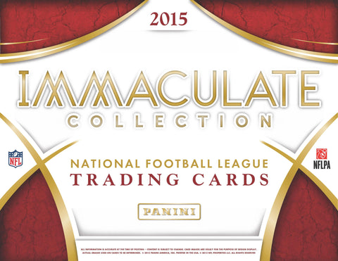 #5 2015 Panini Immaculate FB 6-box Case Break - Random Teams (30 Total Spots)