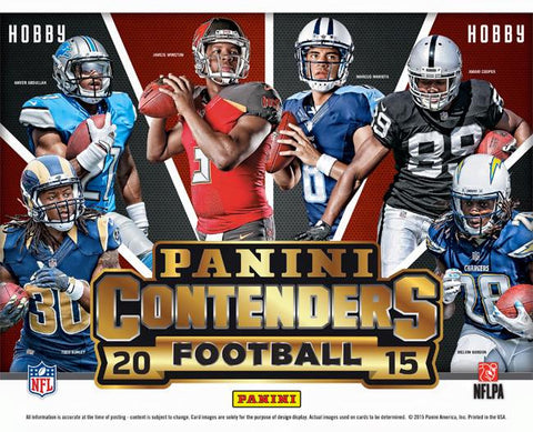 #3 2015 Panini Contenders Football 12-box Case Break - Random Teams (28 Total Spots)