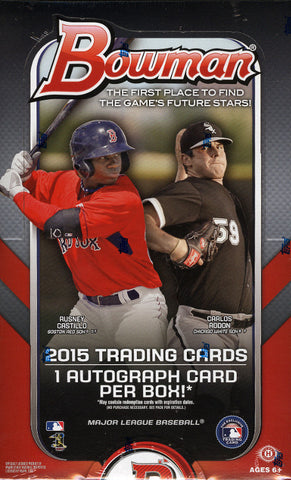 2015 Bowman Baseball Hobby 12 Box Division Case Break