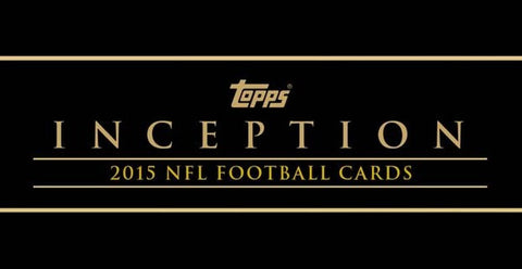 #4 2015 Topps Inception Football 8-box Case Break - Random Teams (26 Spots)