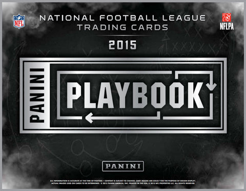#2 2015 Playbook Football 15-Box Case Break - Random Teams (30 Total Spots)