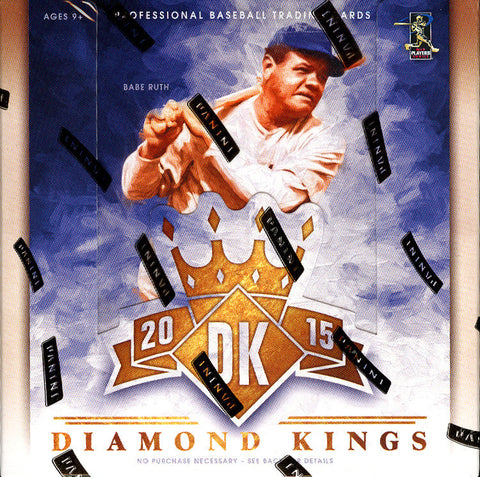 2015 Panini Baseball Diamond Kings Baseball Hobby 16 Box Case #1