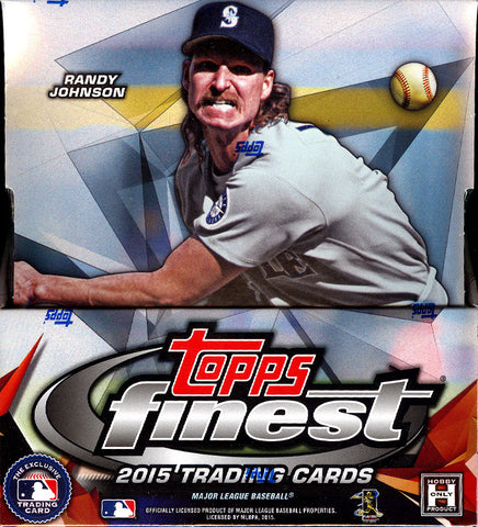 2015 Topps Finest Baseball 3-Box Break - Random Teams