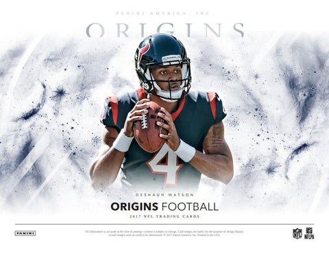 8/24/17 #3 2017 Origins FB 8-box Half Case Break - Random Teams (25 Total Spots)