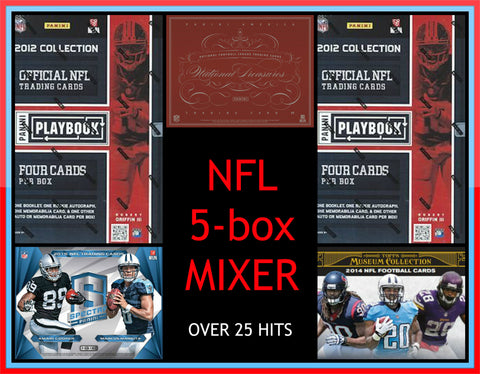 NFL 5-box Mixer - Random Teams