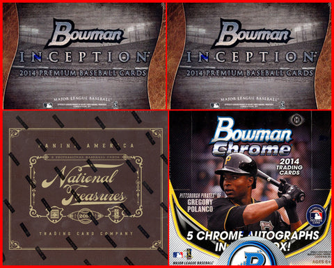 2014 MLB 4-box MIXER - 2 Random Teams