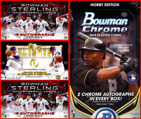 3/18 14-15 MLB 4-box MIXER - 2 Random Teams