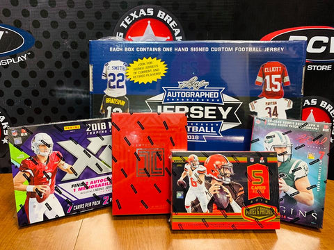 NFL 5-box Mixer - Random Teams (32 Total Spots)
