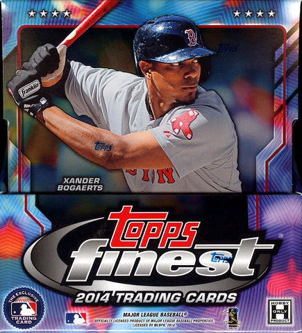 8/23 #1 2014 Topps Finest Baseball 1-box Break - 2Random Teams per Spot