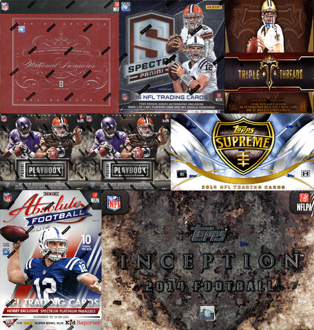 NFL Excellent 8-box Mixer - Random Teams