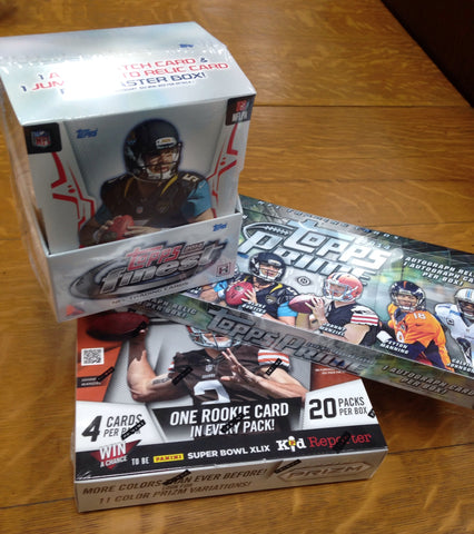 2014 NFL 3-box MIXER - 2 Random Teams per Spot