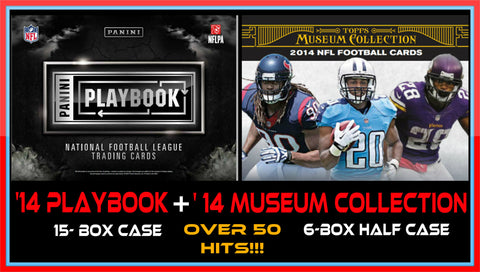 BTB COMBO '14 Playbook + '14 Museum Collection FB - Random Teams (32 Spots)