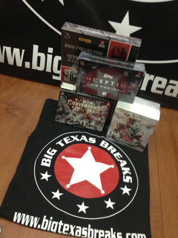 FOOTBALL 4-BOX LIVE 9/20 Fri 930pm-CT 2012 Playbook, Contenders & 2013 Finest, Inception Break - Random Teams