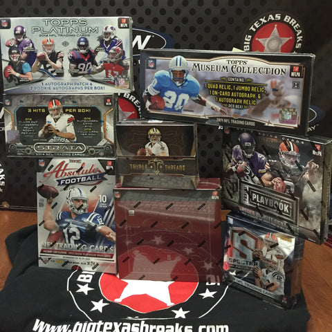 NFL 8-box Mixer - Random Teams