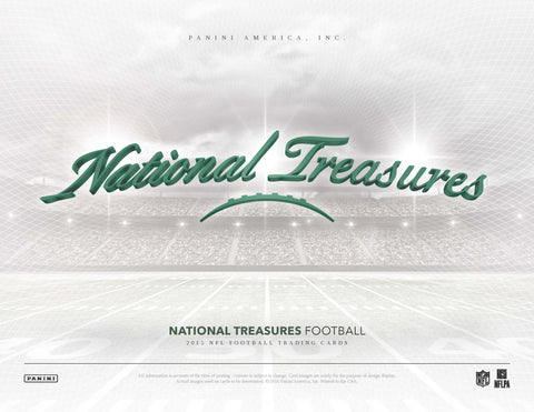 LIVE at NATIONAL - #1 2015 National Treasures FB 4-box Case Break - Pick Your Team (TITANS RANDOIMIZED TO SPOT IN BREAK)