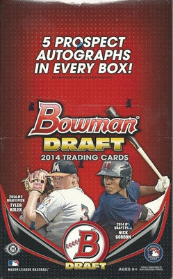 #3 2014 Topps Bowman Draft SUPER JUMBO Case Break - Pick Your Team