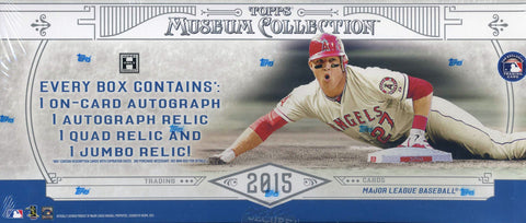 2015 Topps Museum Collection MLB 1-box Break - Random Teams