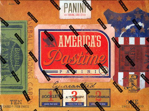 Box #3 Panini America's Pastime Baseball 1-Box Break - 2 Random Teams BOGO