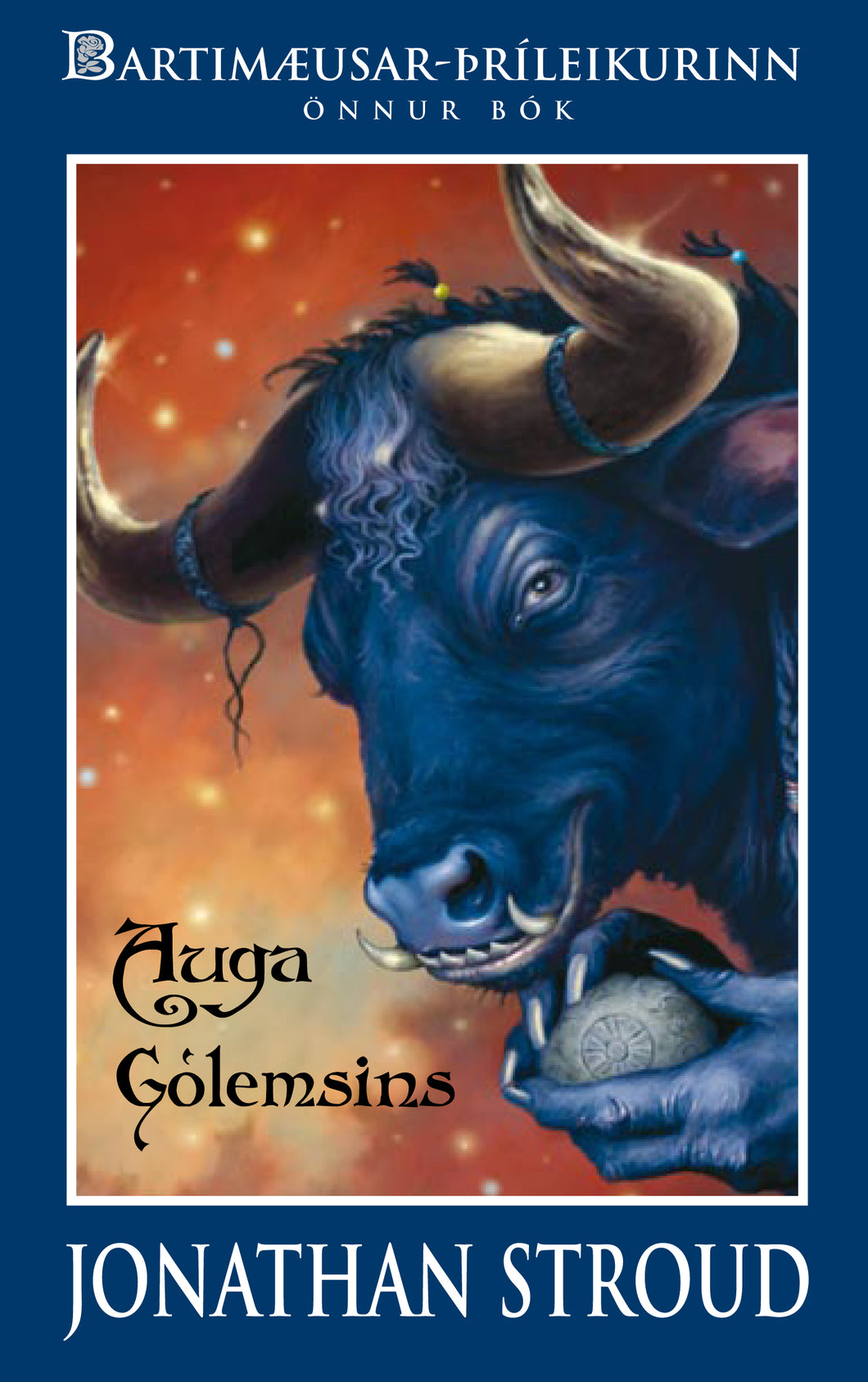 Auga Gólemsins<br><small><i>Jonathan Stroud</i></small></p>