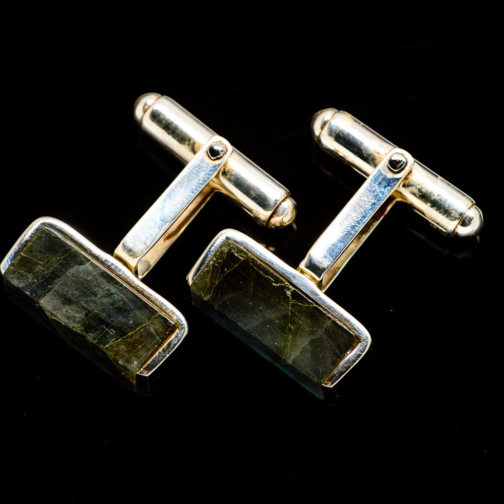 Baltic Amber Cufflinks handcrafted by Ana Silver Co - CUFFLINK1050
