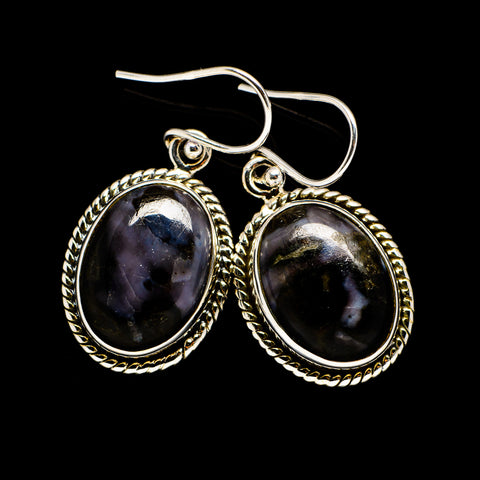 Gabbro Stone Earrings handcrafted by Ana Silver Co - EARR392470