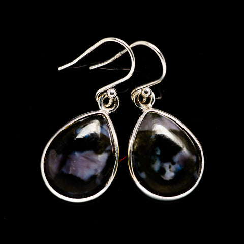 Gabbro Stone Earrings handcrafted by Ana Silver Co - EARR392482