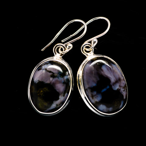 Gabbro Stone Earrings handcrafted by Ana Silver Co - EARR392609