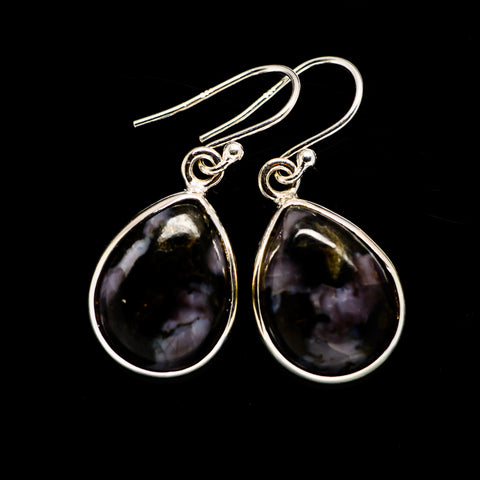 Gabbro Stone Earrings handcrafted by Ana Silver Co - EARR392643