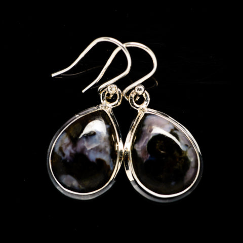 Gabbro Stone Earrings handcrafted by Ana Silver Co - EARR392705