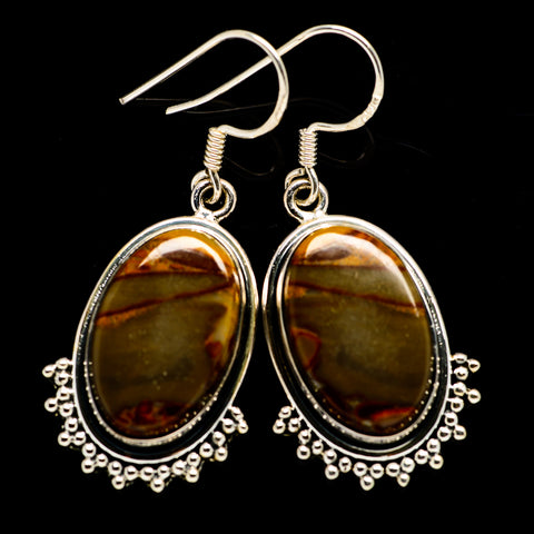 Bauxite Earrings handcrafted by Ana Silver Co - EARR392861