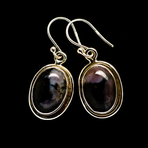 Gabbro Stone Earrings handcrafted by Ana Silver Co - EARR393468