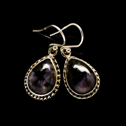 Gabbro Stone Earrings handcrafted by Ana Silver Co - EARR393491