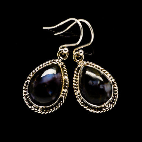 Gabbro Stone Earrings handcrafted by Ana Silver Co - EARR393513