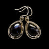 Gabbro Stone Earrings 1 3/4