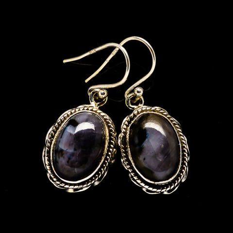 Gabbro Stone Earrings handcrafted by Ana Silver Co - EARR393606