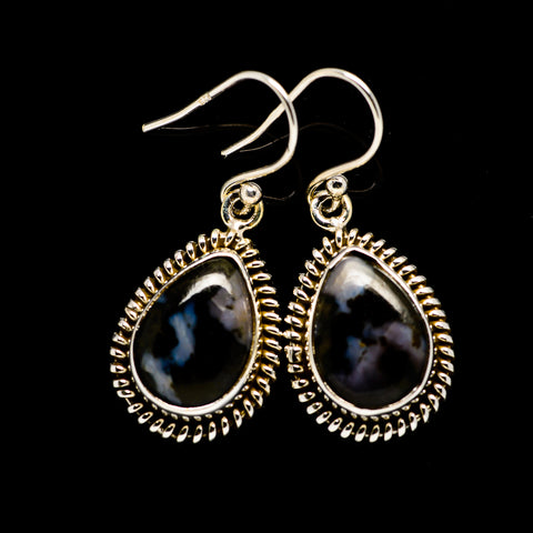 Gabbro Stone Earrings handcrafted by Ana Silver Co - EARR393620