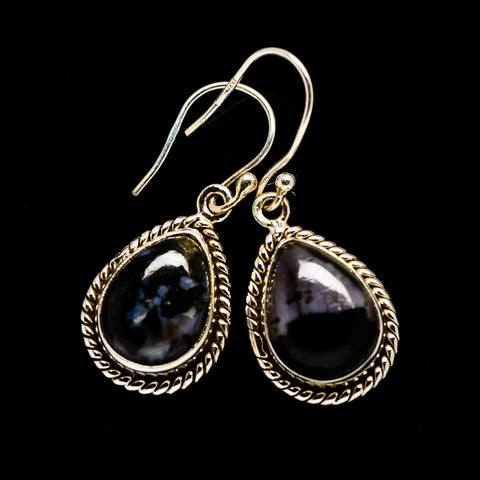 Gabbro Stone Earrings handcrafted by Ana Silver Co - EARR393638
